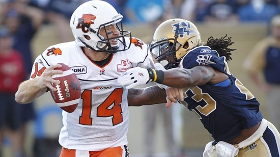 Grey Cup Preview: BC vs. Winnipeg