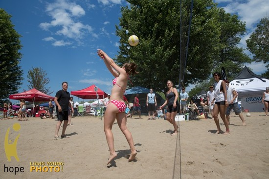 Sun, Sand and Non-Stop Entertainment at HOPE Volleyball SummerFest
