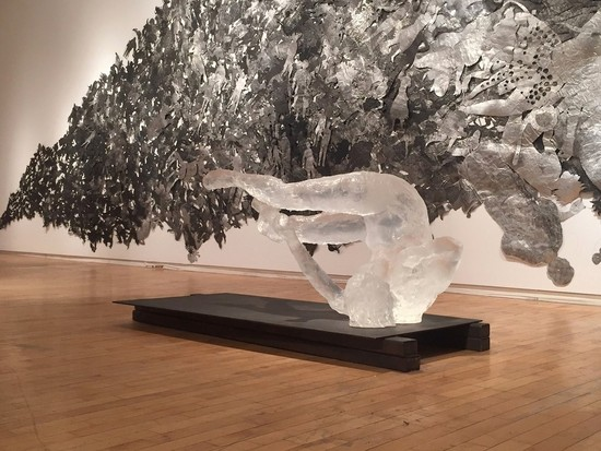 Artist Eric Fischl at the NGC