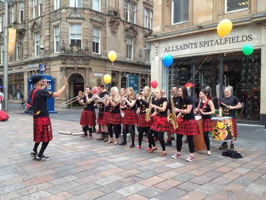 Glasgow Transformed: Modern and Edgy