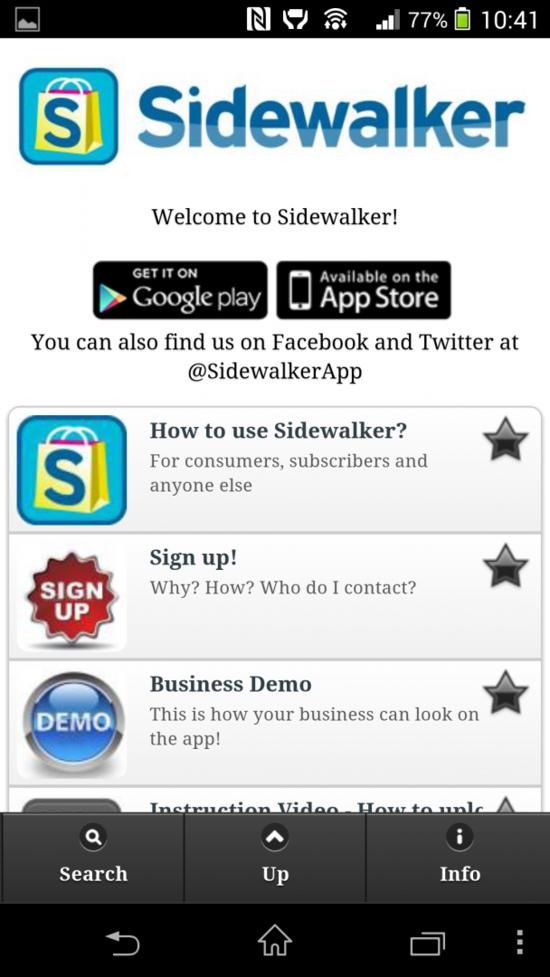 New App Sidewalker Aims to Help People Shop Local in Ottawa