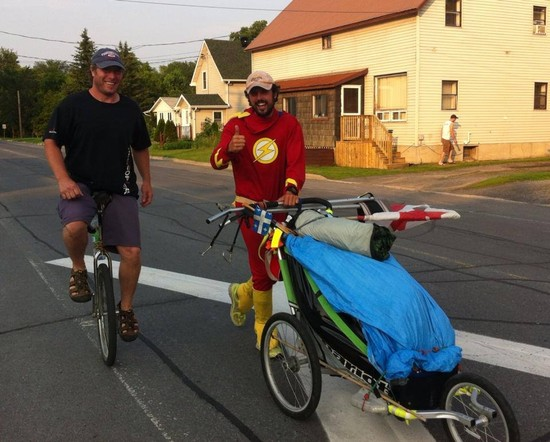 Jamie's Run: Real-Life Superhero Reaches Ottawa in 8,000-km  East Coast-to-West-Coast Sprint