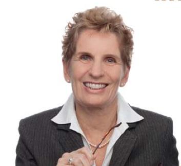 Kathleen Wynne Ontario's Premier Candidate
