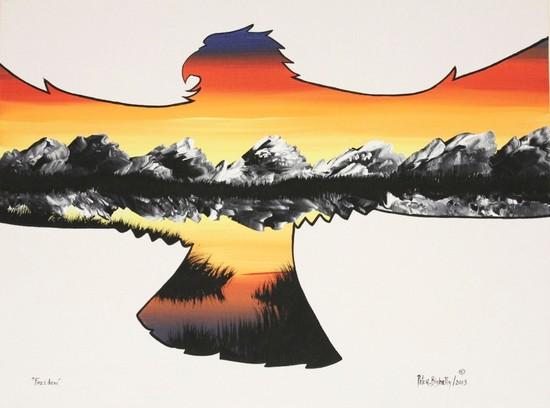 The Natural Way: Native Artist Peter Bighetty