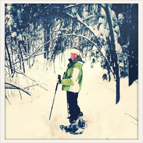 Bucket List: Learning How to Snowshoe in the Gatineau Hills