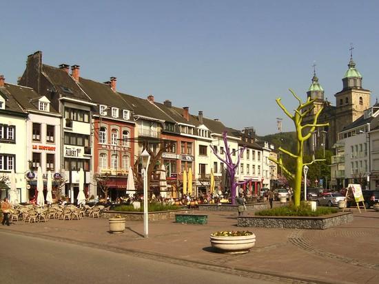 The Ardennes in Belgium