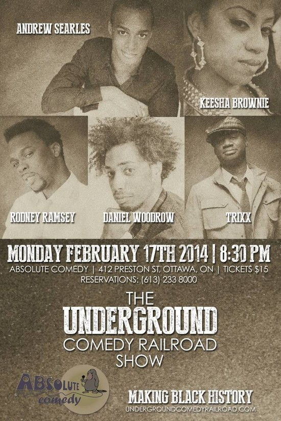 The Underground Comedy Railroad Tour Goes National