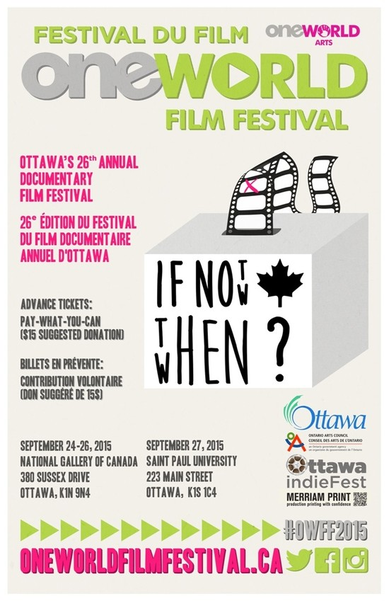 One World Film Festival Hits Ottawa's Silver Screen