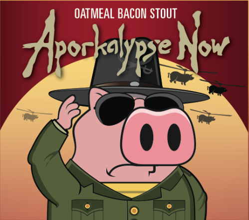 HogsBack Declares APORKALYPSE NOW: HogsBack Brewing Company Brews OATMEAL BACON STOUT Beer