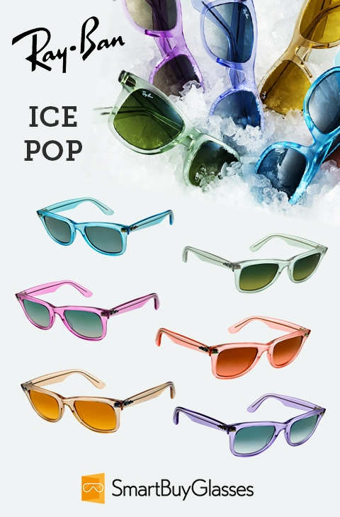 Easy on the Eyes: Ray-Ban Ice Pop Sunglasses Are Ideal for Summer