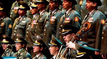 The Russian Alexandrov Red Army Choir and Ensemble - Wow!