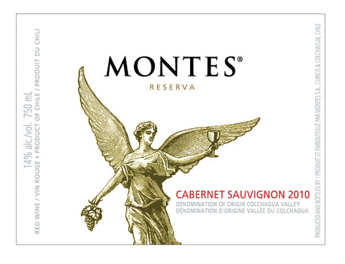 "Something ""Completely Yummy"": 2011 Montes Reserva Cabernet Sauvignon"
