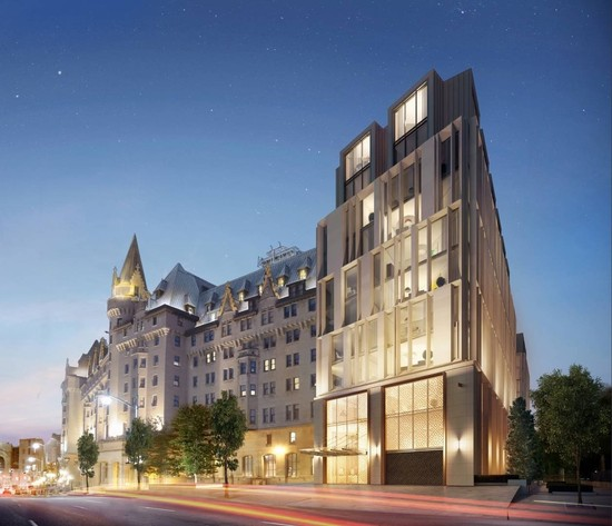 Controversial Contemporary Expansion Proposed for Iconic Château Laurier