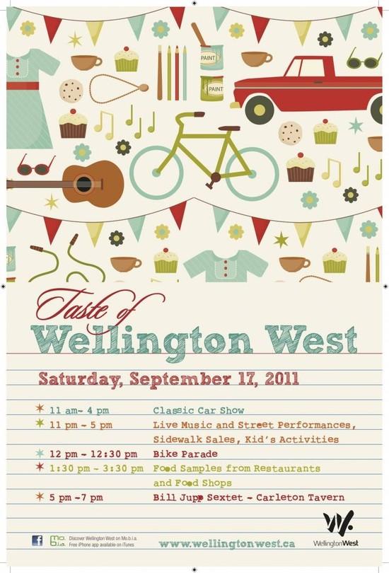 Get A Taste of Wellington West!