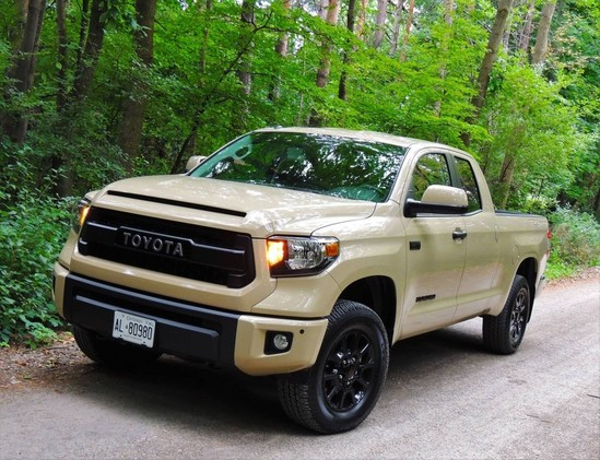 Living large in Toyota's brawniest ride