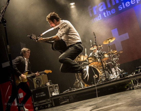 Frank Turner Proves To Be Anything But Sleepy