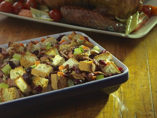 French Canadian Cranberry Pecan Gluten-Free Stuffing