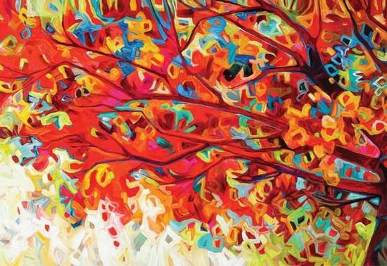 Artist Julia Veenstra: Multi-Tasking Dynamo