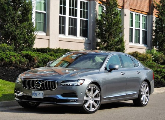 Volvo Styling Moves Upmarket in S90 Flagship