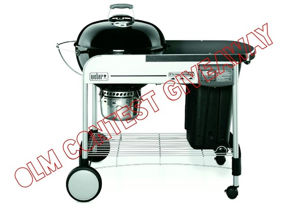 Weber Grill Giveaway!