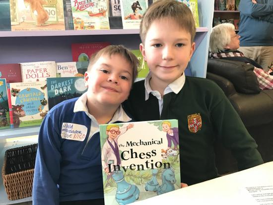 A Child Author with His Sights Set On Changing the World