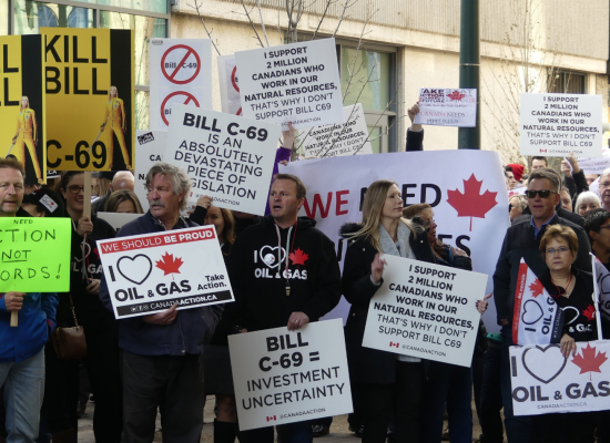 Alberta pro-pipeline rally set to make its way to Parliament's front door by February
