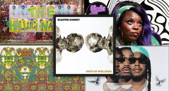 Album Reviews: Sleater-Kinney, King Gizzard & The Lizard Wizard, Migos