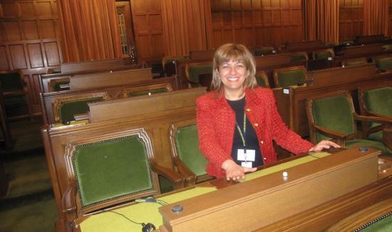 Ottawa Catholic Teacher Antoinette Nehme champions democracy and multiculturalism