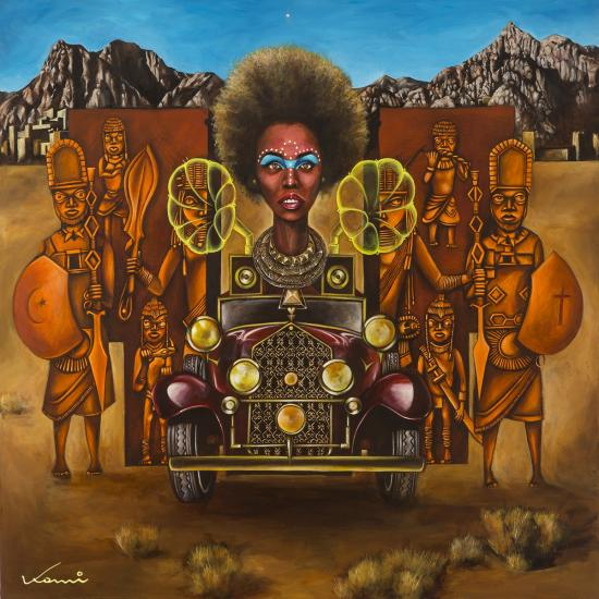 Art and Afrofuturism: An Interview with Komi Olaf