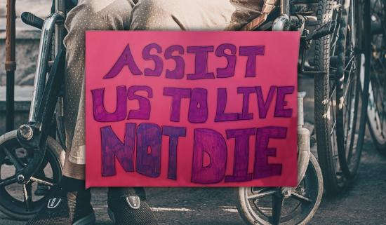 Equality for persons with disabilities on the line in new assisted dying legislation