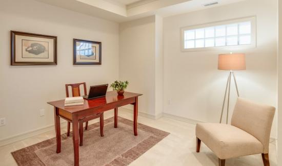 Benefits of turning basement into home office