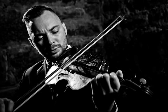 The Dr. Is In As Violin Virtuoso Gets Set to Descend Upon The Alpha Art Gallery