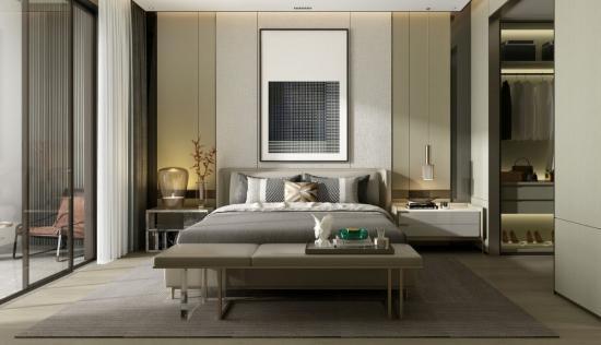 Stylish setup for your bedroom