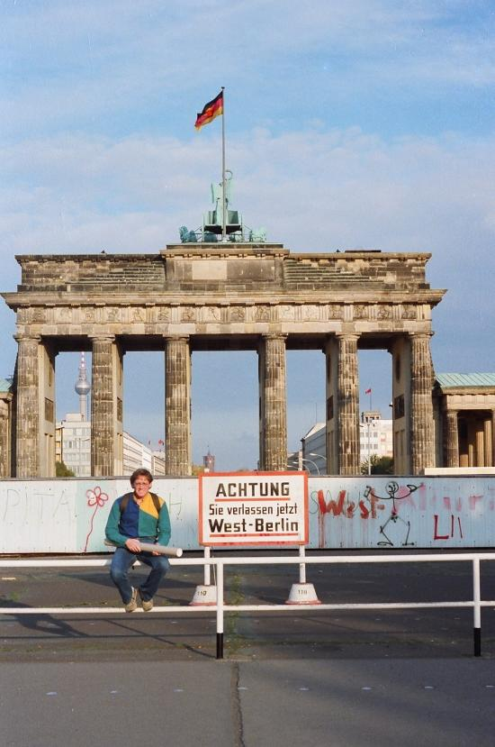 Berlin – before the Wall fell