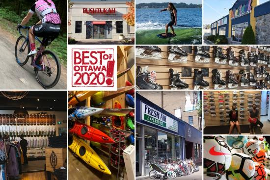 Best of Ottawa: Sports and fitness shops