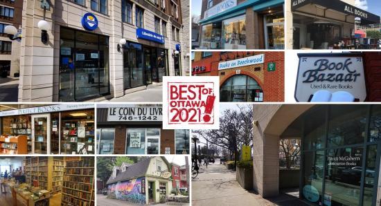 BEST of OTTAWA 2021: Bookstores