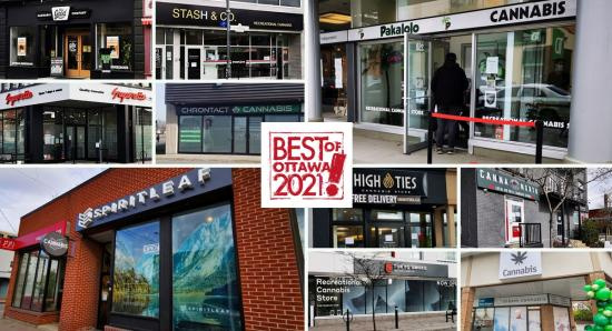 BEST OF OTTAWA 2021: Cannabis shops