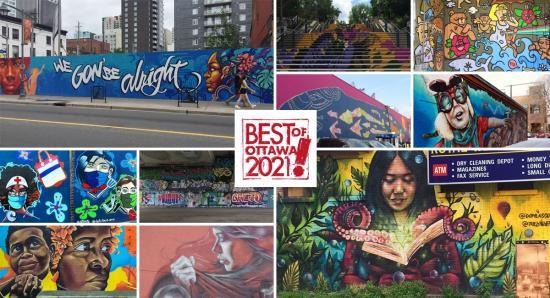 BEST OF OTTAWA 2021: Murals and street art