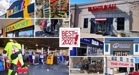 BEST OF OTTAWA 2021: Sports Stores