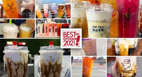 BEST OF OTTAWA 2021: Bubble tea and juices