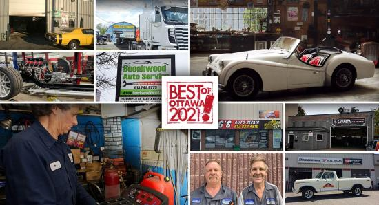 Best of Ottawa 2021: Auto repair shops and garages
