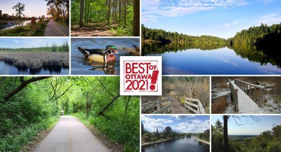 BEST OF OTTAWA 2021: Bikes Paths and Walking Trails