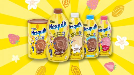 NESQUIK is back with a NEW look, recipe & an all-new Vanilla flavour!