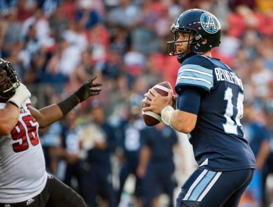 Bethel-Thompson and the Argonauts Shock Redblacks With Fourth-Quarter Comeback
