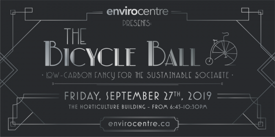 """Party like it's 2050"" — EnviroCentre Celebrates 20th Anniversary with Bicycle Ball"