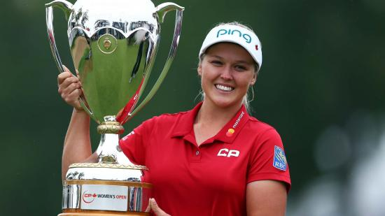 Brooke Henderson to defend her title at Canadian Women's Open