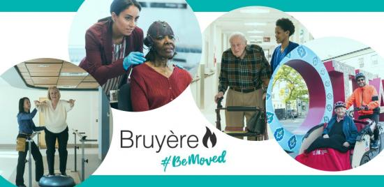 Support Bruyère Month—take part and #BeMoved!