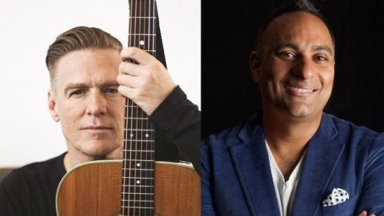JUNO Spotlight: Bryan Adams and Russell Peters Will Co-Host the JUNOs