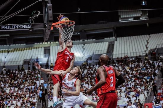 Canada Advances in FIBA 3x3 World Cup