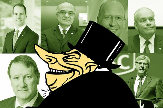 The shameful behaviour of Canada's greedy, gluttonous banks